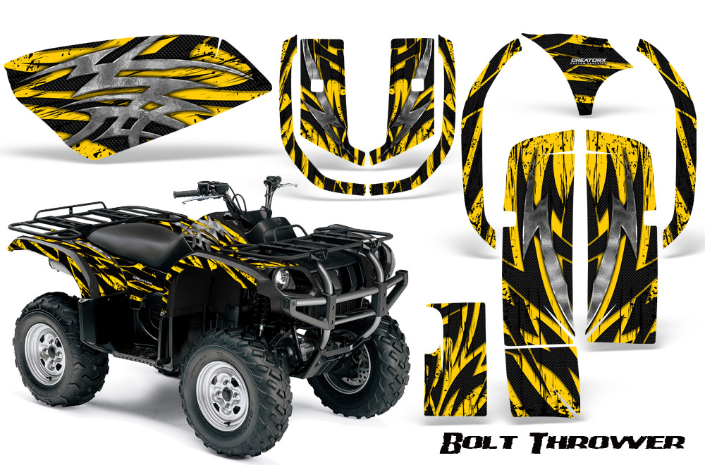 Yamaha Grizzly 660 Graphics Kit Decals Stickers BTY