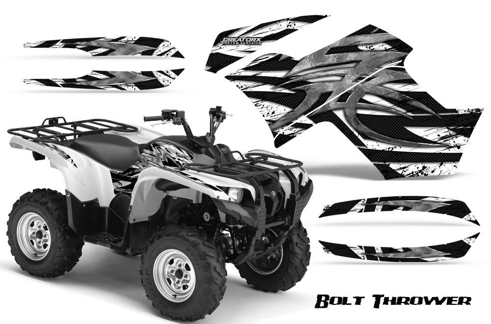 YAMAHA GRIZZLY sticker decal quad ATV 14 Pieces