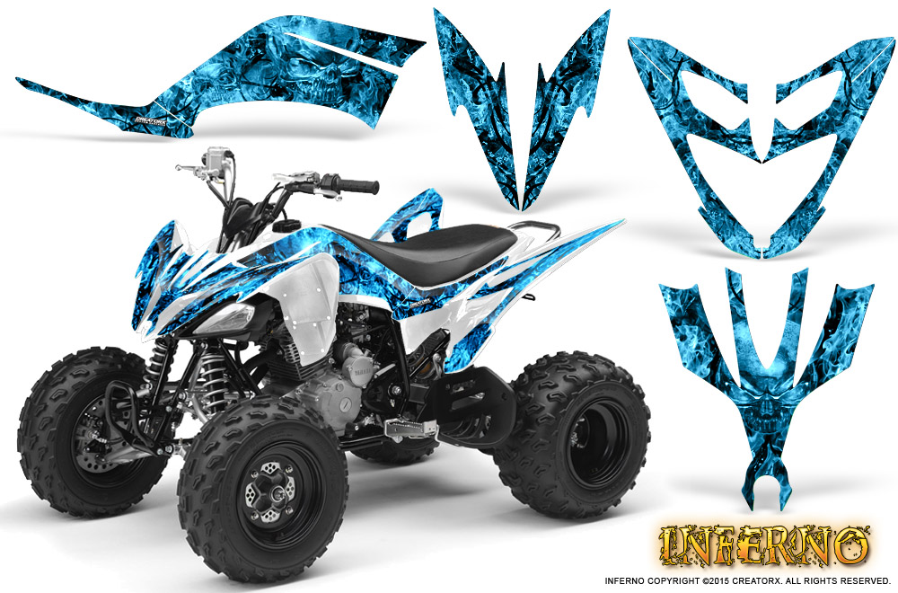 CAN-AM DS650 BOMBARDIER GRAPHICS KIT DS650X CREATORX DECALS STICKERS BTSB