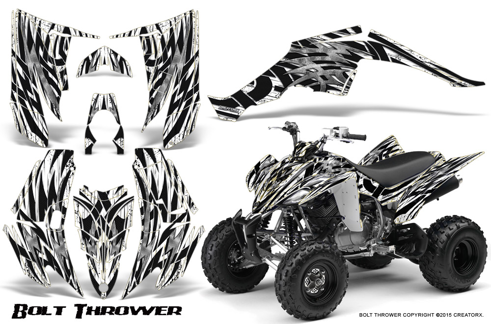 Yamaha Raptor 350 Graphics Kit Creatorx Decals Stickers BTW