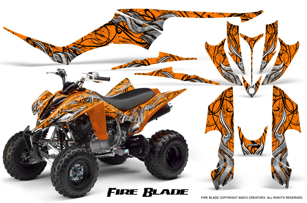 Yamaha Raptor 350 Graphics Kit Creatorx Decals Stickers FBO