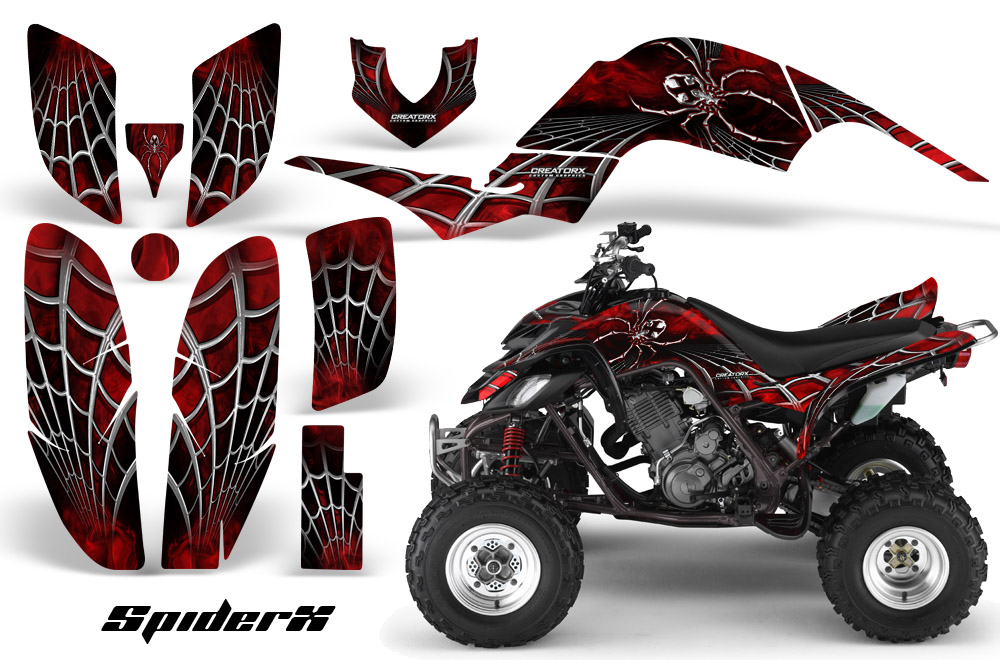 Yamaha Raptor 660 Graphics Kit Decals Stickers SXRB