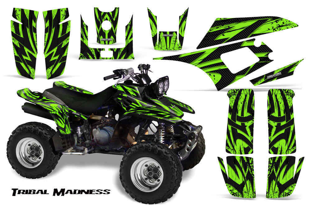 YAMAHA WARRIOR 350 GRAPHICS KIT CREATORX DECALS STICKERS TMG