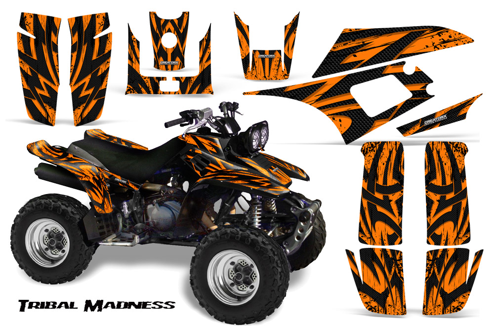 Yamaha Warrior 350 Graphics Kit Decals Stickers TMO