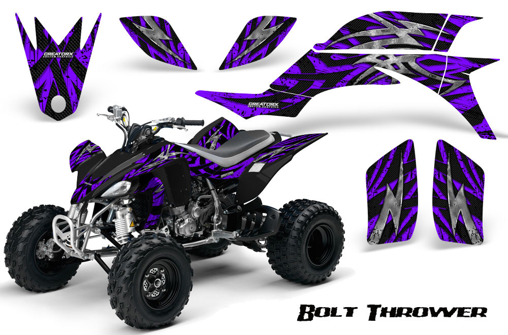 YAMAHA YFZ 450 03-13 ATV GRAPHICS KIT DECALS STICKERS CREATORX BTBL
