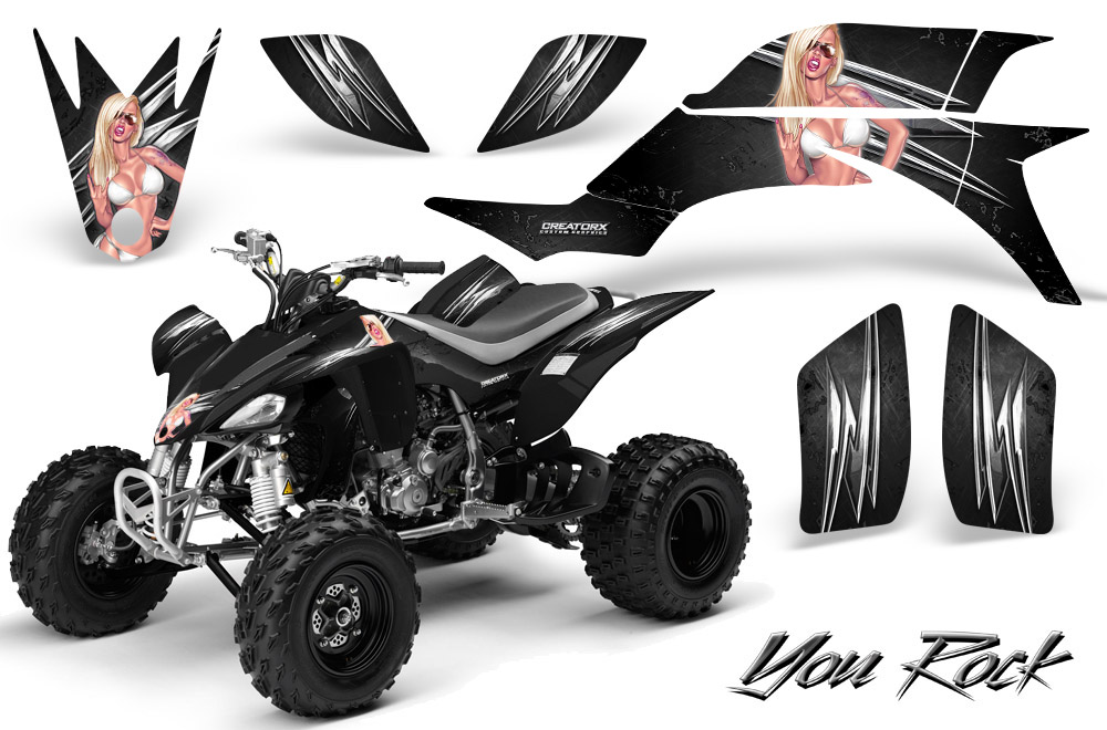 Yamaha Yfz 450 03 13 Atv Graphics Kit Decals Stickers Creatorx Yrb Ebay