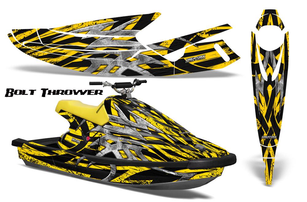 Yamaha Waveblaster Jet Ski Graphics Kit 93 96 Creatorx jetski Decals