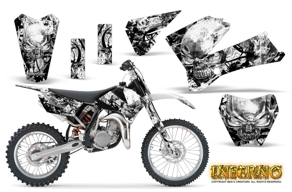 creatorx graphics kit for ktm sx85 sx105 2006