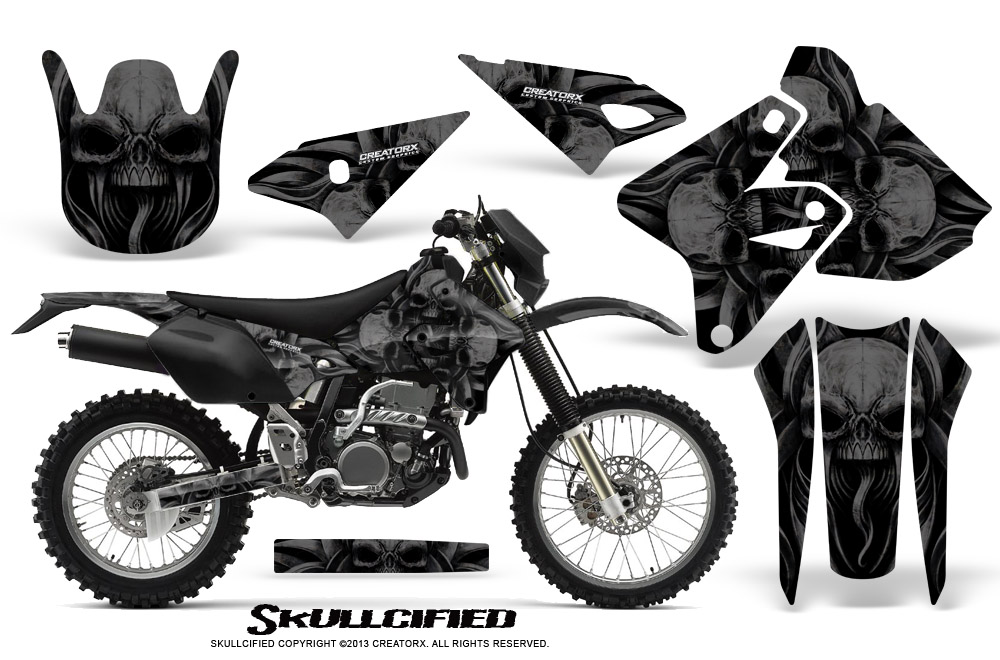 suzuki drz400 drz400s z400 e graphics kit creatorx decals stickers Suzuki Motorcycle Wheels this kit has perforated holes for the plastic tank if you have the metal tank please send us a note during checkout