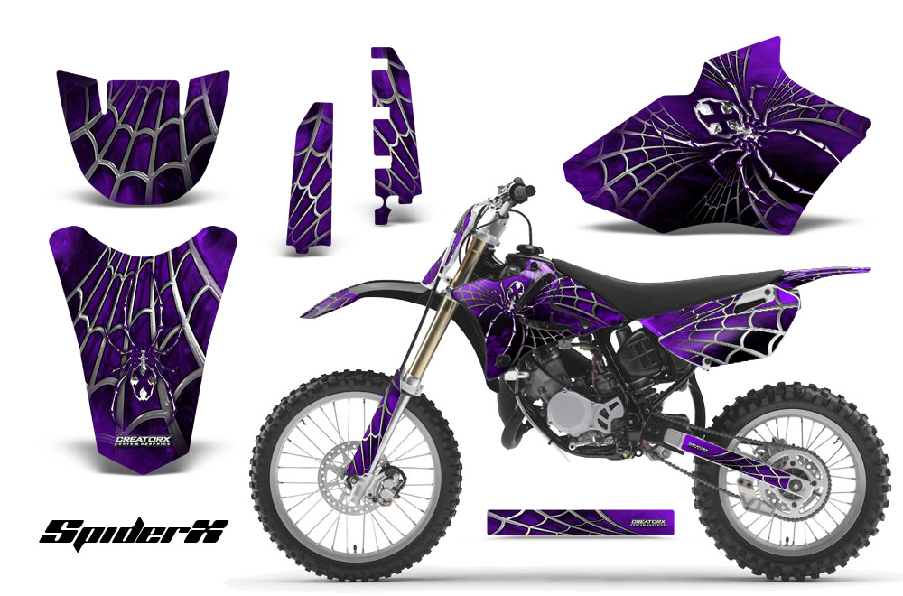 Yamaha YZ85 2 Stroke 2002 2014 Graphics Kit Decals Spiderx SXPRNP