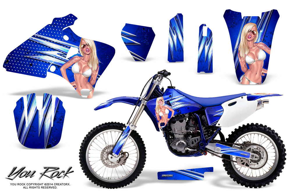 Apache Green Base kit Senge Graphics 1998-2002 YZ 250F//400F//426F Compatible with Yamaha 4-Stroke