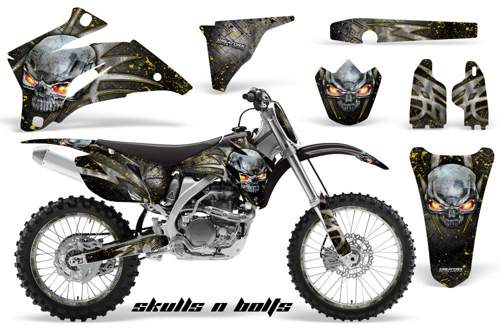 Yamaha YZ250F YZ450F 06 09 Graphics Kit Decals Snbmynpr