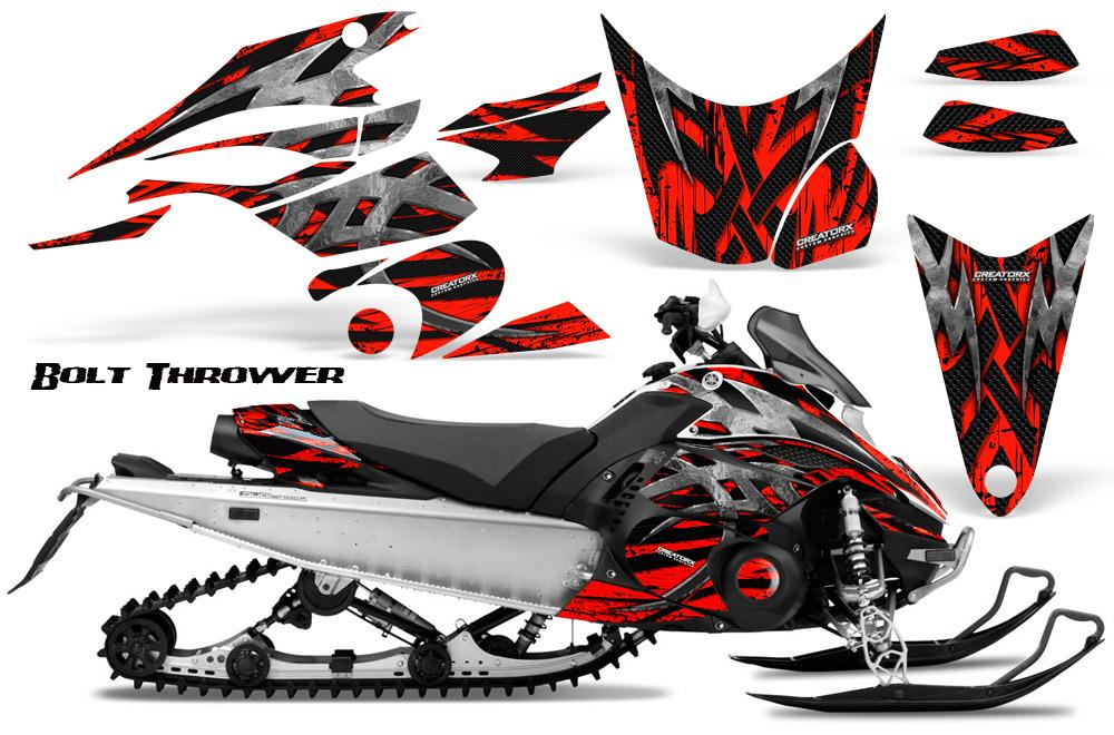 Yamaha FX Nytro 08 14 Graphics Kit CreatorX Snowmobile Sled Decals