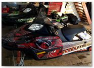 Arctic Cat M Series CreatorX Graphics Kit SpiderX Red 002