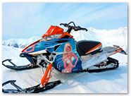 Arctic Cat ProClimb CreatorX Graphics You Rock Blue Ice 003