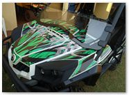 Can-Am Commander CREATORX Graphics Bolt Thrower Green 3