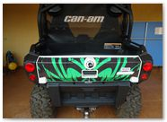 Can-Am Commander CREATORX Graphics Bolt Thrower Green 4