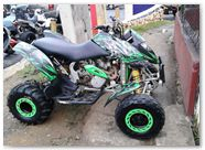 Can-Am DS CREATORX Graphics Bolt Thrower Green 1