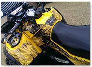 Can-Am Outlander CreatorX Graphics TribalX Black Yellow 03