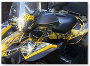 Can-Am Renegade CreatorX Graphics SpiderX Yellow 001