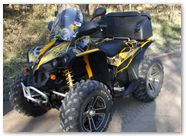 Can-Am Renegade CreatorX Graphics SpiderX Yellow 003