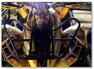 Can-Am Renegade CREATORX Graphics SpiderX Yellow A002