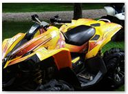 Can-Am Renegade CreatorX Graphics You Rock Yellow 001