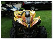 Can-Am Renegade CreatorX Graphics You Rock Yellow 002