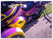 Can-Am Spyder RS CreatorX Graphics Purrfect Light Purple 02