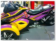 Can-Am Spyder RS CreatorX Graphics Purrfect Light Purple 04