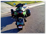 Can-Am Spyder RS CreatorX Graphics SpiderX Green 005