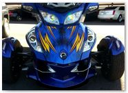 Can-Am Spyder RT CreatorX Graphics Cold Fusion Custom 001