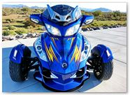 Can-Am Spyder RT CreatorX Graphics Cold Fusion Custom 004