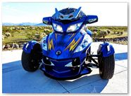 Can-Am Spyder RT CreatorX Graphics Cold Fusion Custom 005