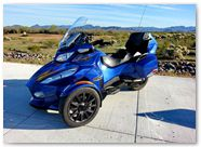 Can-Am Spyder RT CreatorX Graphics Cold Fusion Custom 006