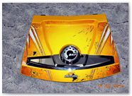 Can-Am Spyder RT CreatorX Graphics Cold Fusion Yellow 002