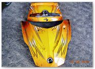 Can-Am Spyder RT CreatorX Graphics Cold Fusion Yellow 003