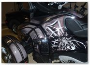 Can-Am Spyder RTS Graphics by CreatorX SpiderX Design Silver 002