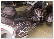 Can-Am Spyder RTS Graphics by CreatorX SpiderX Design Silver 005