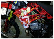 Gas Gas AMR Racing Graphics Motorhead Mandy Red 01