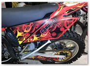 Gas Gas AMR Racing Graphics Motorhead Mandy Red 02