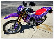 Honda CRF250L CreatorX Graphics Cold Fusion Purple
