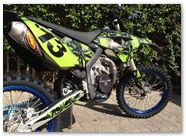Husaberg CREATORX Graphics Skullcified Green 3