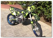 Husaberg CREATORX Graphics Skullcified Green 4