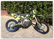 Husaberg CREATORX Graphics Skullcified Green 5