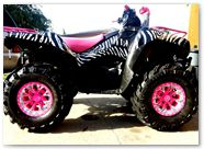 Kawasaki Brute Force 750 CREATORX Graphics ZCamo 2
