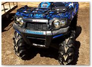 Kawasaki Brute Force CreatorX Graphics Bolt Thrower Blue 01