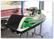 Kawasaki JetSki SX R800 CREATORX Graphics Kit Bolt Thrower Green 5