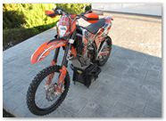 KTM EXC450 2008 CREATORX Graphics SpiderX Orange 2