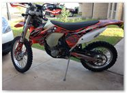 KTM MX CreatorX Graphics SpiderX Orange 04